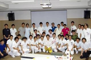 長野市民病院男性看護師集合写真