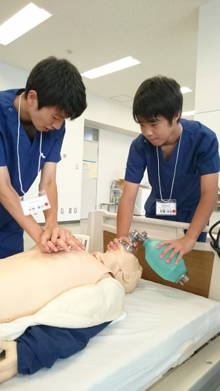 演習2胸骨圧迫